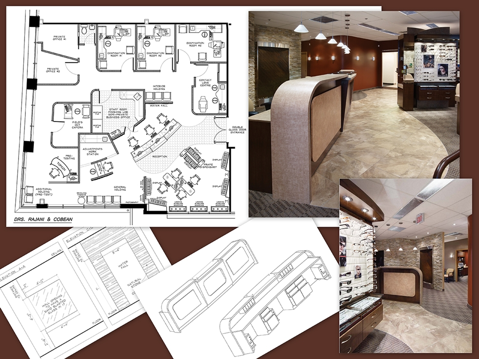 Design services space planning complete construction Create a blueprint