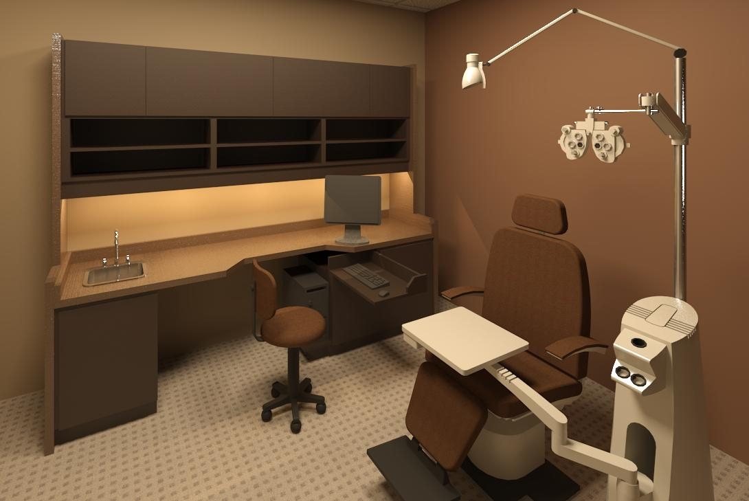 Optometry Office Furniture Examination Rooms
