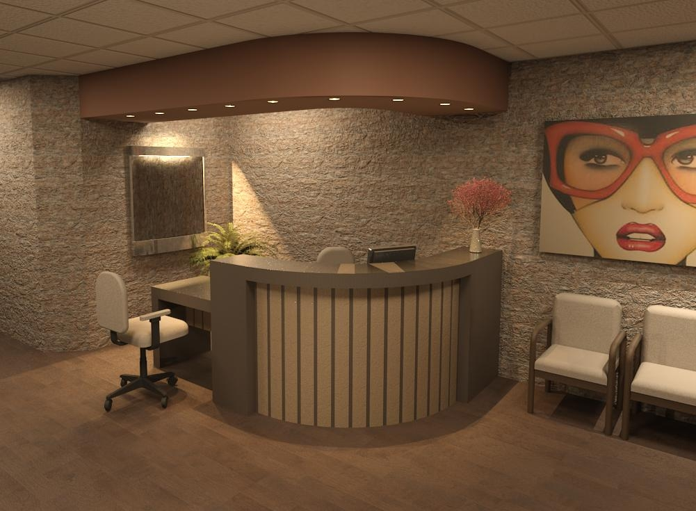 RECEPTION DESK-E10