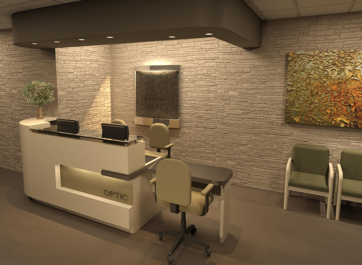 RECEPTION DESK-E13
