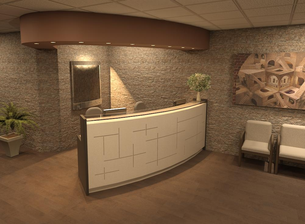 RECEPTION DESK-E7