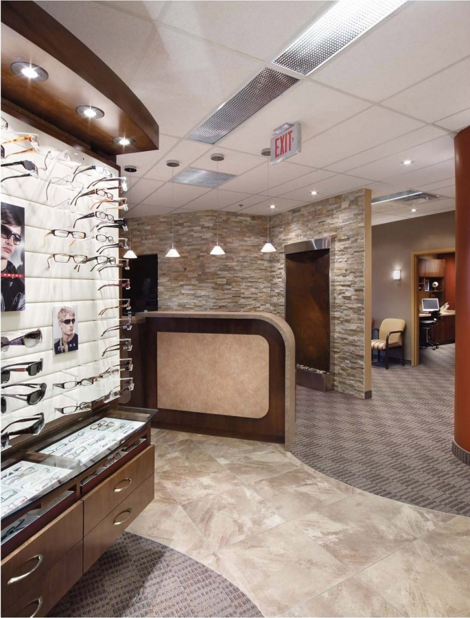 Optometry Office Furniture Reception Desks Delectable Optometry Office Design