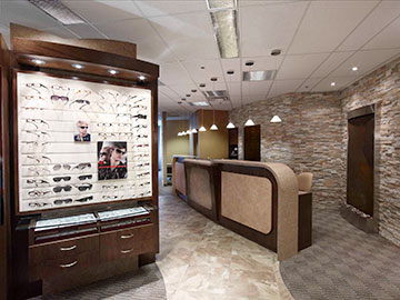 flex eyewear dispensing frame display