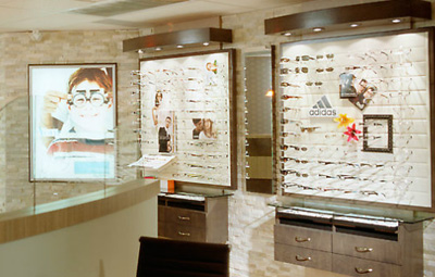 Frame Displays for Optometric Offices